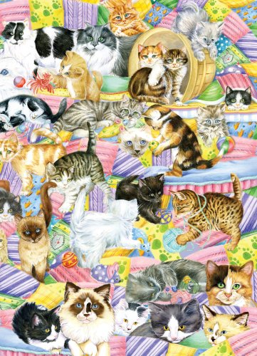Cheap Great American Feline Friends 1000 pc Jigsaw Puzzle by Great American Puzzle Factory (B00204K7MU)