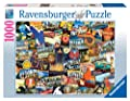 Ravensburger Road Trip USA - 1000 Piece Puzzle by Ravensburger