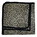 BabywearUK Leopard print Baby Blanket - British Made by BabywearUK