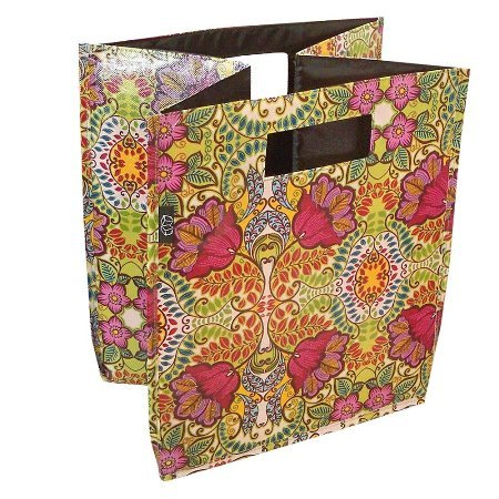 Decorative Storage Bin/mumpers Rhapsody Design 12x12x12.