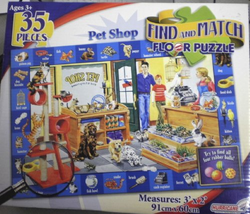 Cheap Hurricane  Toys Find and Match Pet Shop Puzzle (B004H6QB6K)