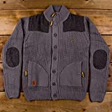 Voi Jeans Mens Knitwear Viber Charcoal