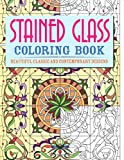 img - for Stained Glass Coloring Book: Beautiful Classic and Contemporary Designs (Chartwell Coloring Books) book / textbook / text book