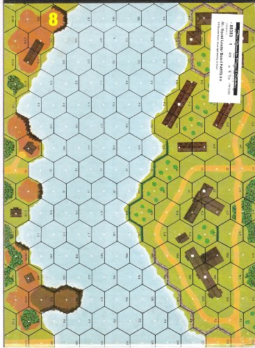 MMP: SL Squad Leader Unmounted Mapboard # 8 - 1