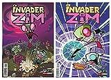 img - for Jhonen Vasquezs' Invader Zim - Issue 1-2 Set! Bundle of 2 Oni Press Comics book / textbook / text book