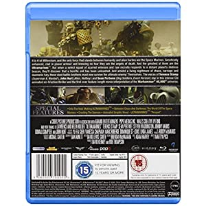 Ultramarines: A Warhammer 40000 Movie [Blu-ray] [Import anglais]
