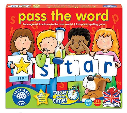 Orchard Toys - Gioco di spelling in lingua inglese, 5-9 anni, 2-4 giocatori