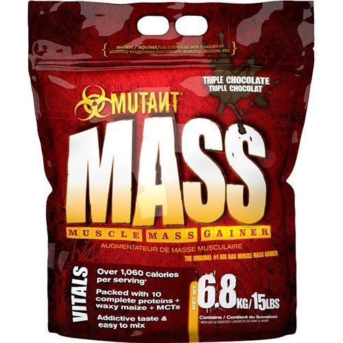 Pvl - Mutant Mass Choc Peanut | 6800g mutant mass 6 8 киев