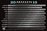 2015 Moon Calendar Card (5 pack): Lunar Phases, Eclipses, and More!