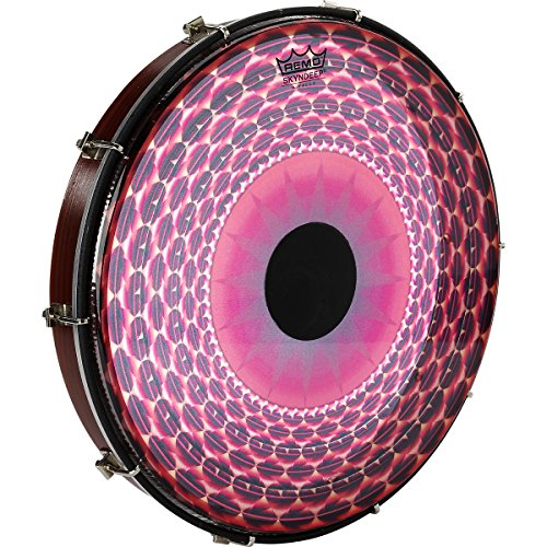 remo-tablatone-frame-drum-tunable-skyndeepr-clear-tone-p3-drumhead-red-radial-flare-graphic-12-x-2-a