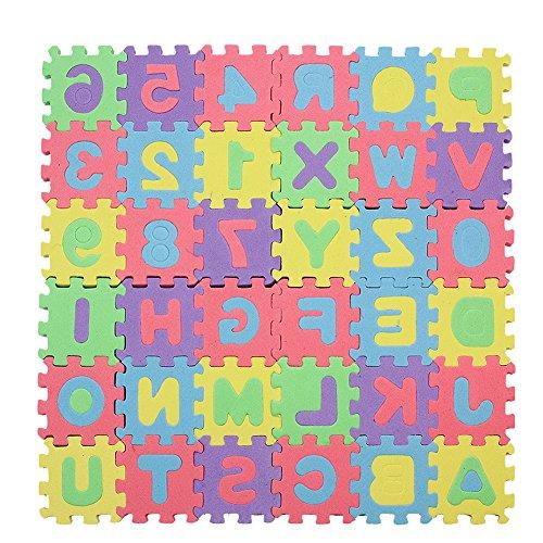 1 Set Tapis Jeu Puzzle Mousse