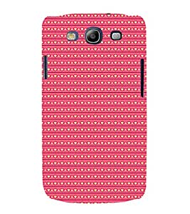 Love Symbols Pattern 3D Hard Polycarbonate Designer Back Case Cover for Samsung Galaxy S3 Neo :: Samsung Galaxy S3 Neo i9300i