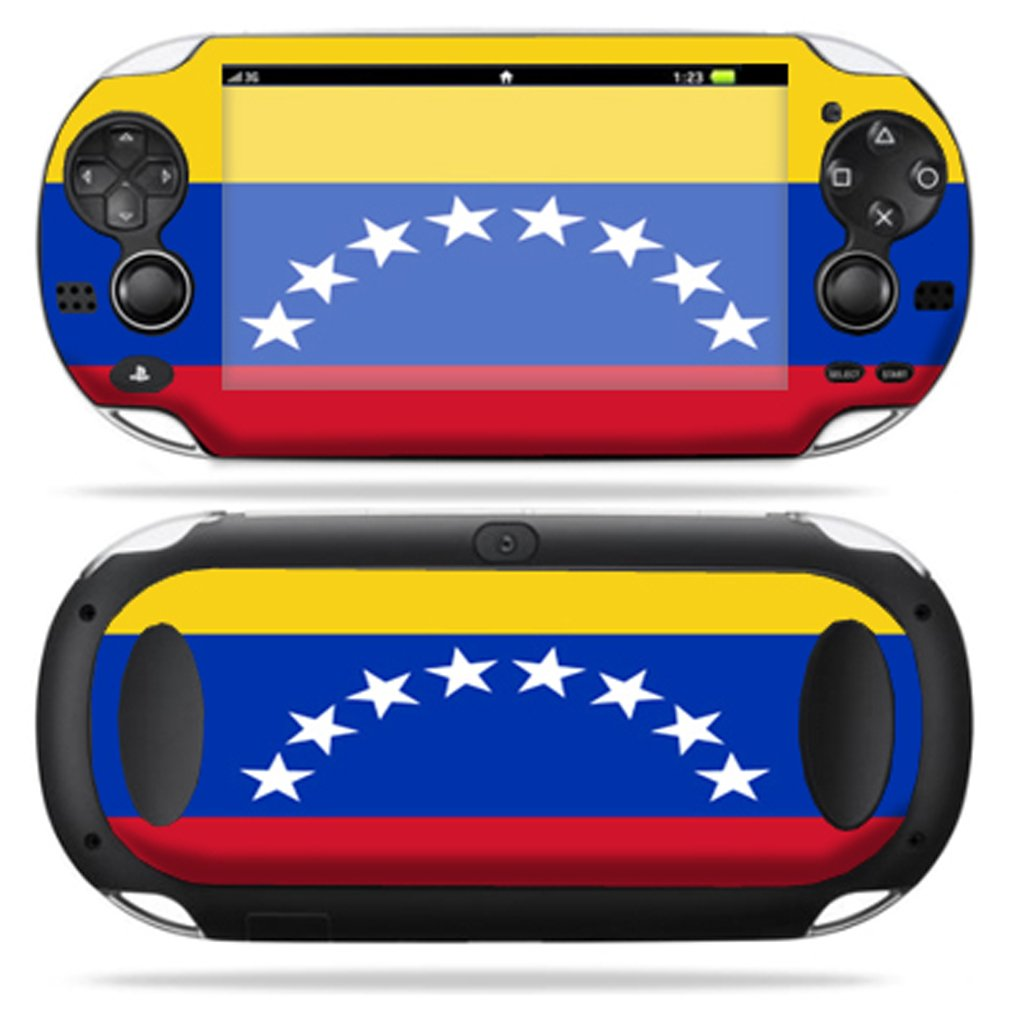 Protective Vinyl Skin Decal Cover for PS Vita PSVITA Playstation Vita Portable Sticker Skins Venezuelan Flag sex babe vinyl decal skin sticker for xbox360 slim with 2 controller skins