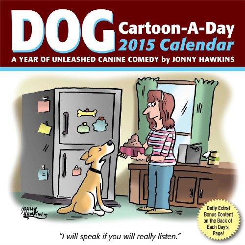 Dog Cartoon-a-Day 2015 Calendar