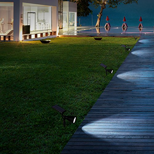 Kealive Solar Lights Outdoor Waterproof Adjustable 180