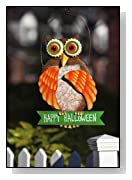 Happy Halloween Owl Wall Sign
