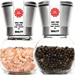Stainless Steel Salt Mill and Pepper...