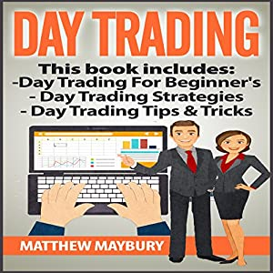 Day Trading: 3 Manuscripts Audiobook