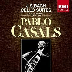 カザルス(P) バッハ 無伴奏チェロ組曲の商品写真