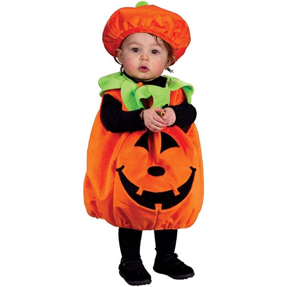Soft and Comfy Pumpkin Infant Costume ソフトで快適なカボチャ幼児コスチューム サイズ:Infant (Up to 24M)