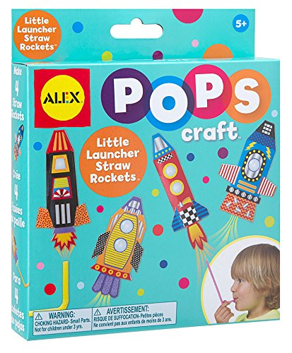 ALEX Toys Craft Pops Little Launcher Straw Rockets