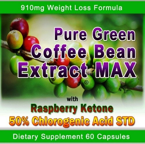 Pure Green Coffee Bean Extract Max Strongest Diet Pill 910 Mg Weight Loss Formula CONTAINS UP TO 54 9 CHLOROGENIC ACID Raw Green Coffee Bean Extract Max 800 Mg 100 Mg Raspberry Ketones Downloadable FOOD JOURNAL Included