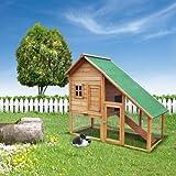 Hasenstall Kleintierkäfig Hasenhaus Neues Verbessertes Modell Nr.2 -