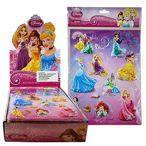 Disney Princess Raised Sticker Sheet