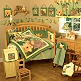 NoJo Jungle Babies 6 Piece Crib Bedding Set (Discontinued by Manufacturer) ~ NoJo