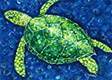 My Island Placemats Green Turtle