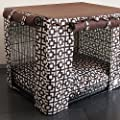 Lattice Dog Crate Cover
