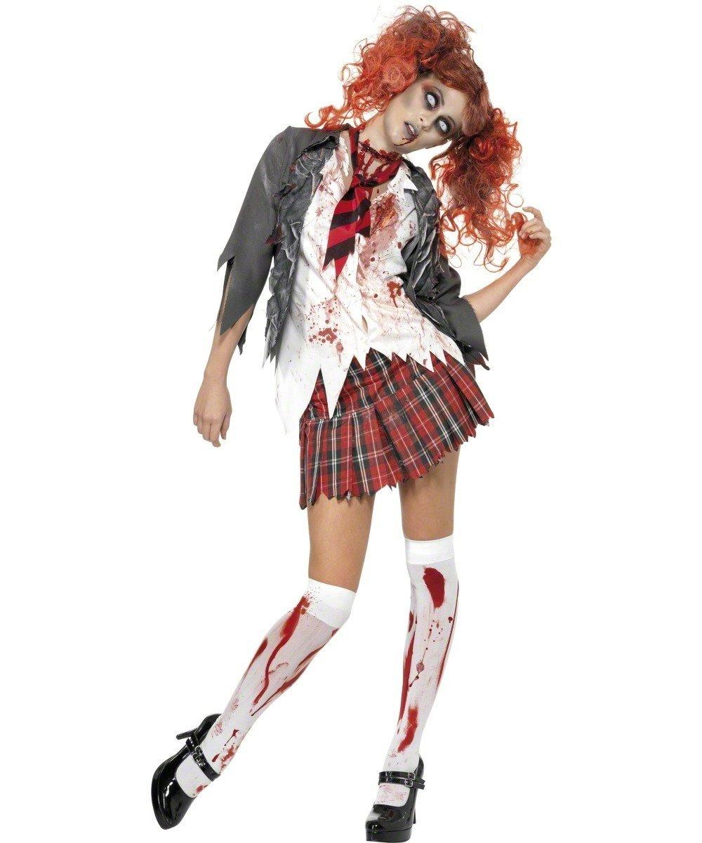 Blutiges Schulmädchen Kostüm für Damen