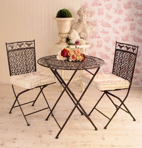 historische sitzgarnitur garten sitzgruppe im jugendstil vintage kaufen. Black Bedroom Furniture Sets. Home Design Ideas