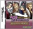 Ace Attorney Investigations : Miles Edgeworth (Jeu en Anglais)