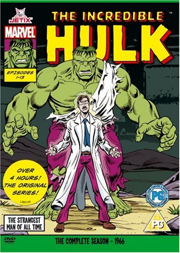 The Incredible Hulk - Complete Season (marvel Originals Series - 60s) [dvd] [1966] Picture