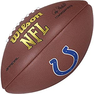 Amazon.com : Indianapolis Colts Logo Official Football