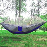 SmartLife Portable Single-person Mosquito Net Hammock Hanging Bed for Travel Camping