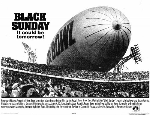 Black Sunday - Movie Poster - 11 x 17