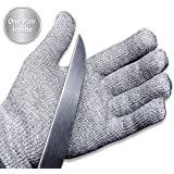 Epica Cut Resistant Gloves with CE Level 5 Protection, 1 Pair Small/Medium