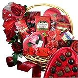 Art of Appreciation Gift Baskets My Chocolate Valentine Premium Gourmet Food Gift Set