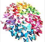 Simoshaw 72 Pcs 3d Butterfly Stickers...