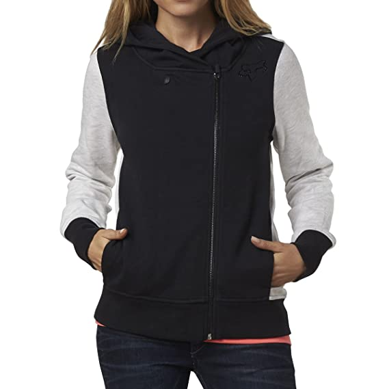 Fox Junior's Side Swiped Color Block Zip Up Hoodie