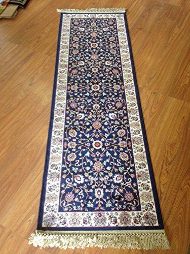 laufer-cm-67-x-210-persischer-position-mit-fransen-blau-blue-klassischer-teppich-flur-persisches-des