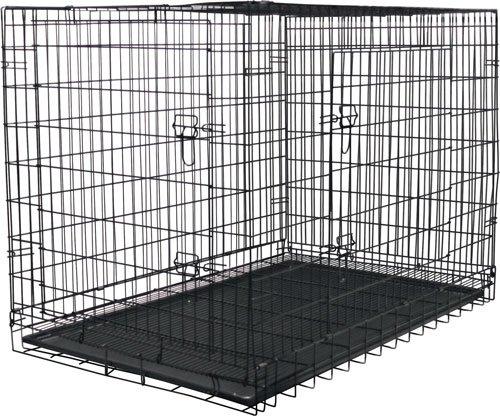 """47"""" Folding Steel Pet Kennel front-74154"""