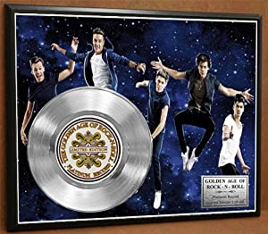 One Direction LTD Edition Platinum Record Poster Art Music Memorabilia Display ***FREE DOMESTIC PRIORITY SHIPPING*** by Gold Record Outlet