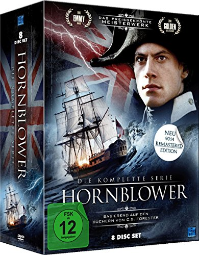 Hornblower (Remastered Edition 2014) - Die komplette Serie (8 Disc Set)