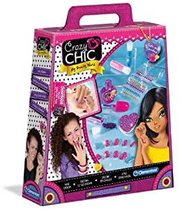 Amazon.com: CLEM GIOCO CRAZY CHIC UNGHIE MANIA 15965: Toys & Games