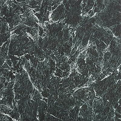 Achim Home Furnishings MJVT180510 Majestic Vinyl Floor Tile, 18 x 18 inches, Verde Green Marble, 10-Pack