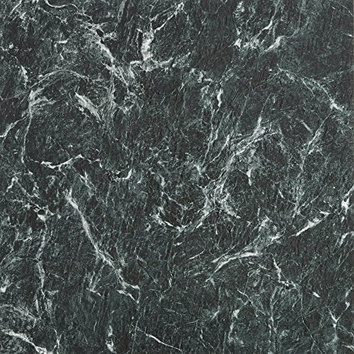 Achim Home Furnishings MJVT180510 Majestic Vinyl Floor Tile, 18 x 18 inches, Verde Green Marble, 10-Pack