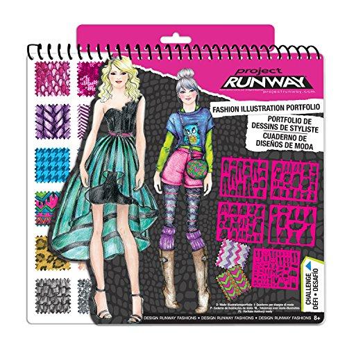 Fashion Angels Project Runway Portfolio Toys Games Toys